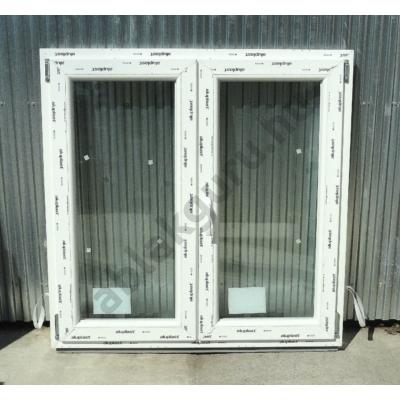 120x120 Kétszárnyú bukó/nyíló műanyag ablak RAKTÁRRÓL