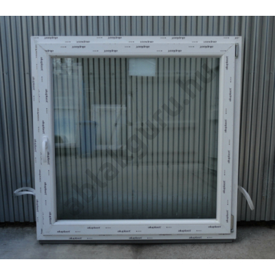 120x120 Bukó / nyíló műanyag ablak RAKTÁRRÓL