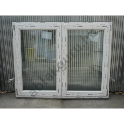 150x120 Kétszárnyú bukó/nyíló műanyag ablak RAKTÁRRÓL