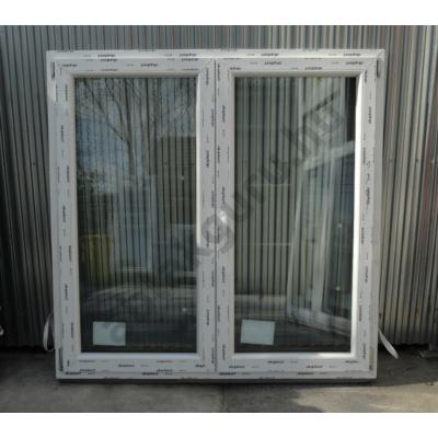 150x150 Kétszárnyú bukó/nyíló műanyag ablak RAKTÁRRÓL