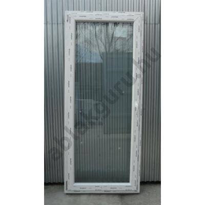 90x210 Bukó / nyíló erkélyajtó műanyag ablak RAKTÁRRÓL