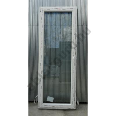 90x240 Bukó / nyíló erkélyajtó műanyag ablak RAKTÁRRÓL