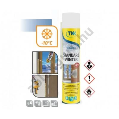 TKK TEKAPUR STANDARD FOAM kézi PU hab (TÉLI) nyílászáró beépítéshez