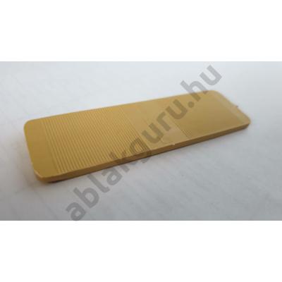 4mm-es hézagoló alátét (üvegező ék)