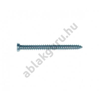 7,5 x 112 Tokrögzítő csavar (átmérő 7,5mm, horganyzott) TORX30