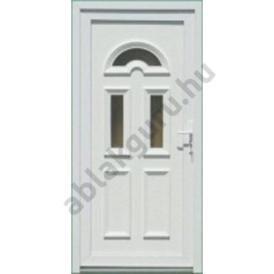 100x210 Műanyag bejárati ajtó öt kamrás profilból - Temze 3 - BAL - Befelé nyíló - (Gyártási méret: 98x208)