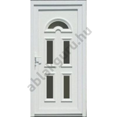 100x210 Műanyag bejárati ajtó öt kamrás profilból - Temze 5 - JOBB - KIFELÉ NYÍLÓ - (Gyártási méret: 98x208)