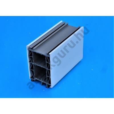 100mm-es műanyag toktoldó 70mm-es ALUPLAST rendszerhez (FEHÉR, GYÁRI)