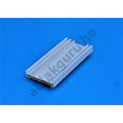 15mm-es műanyag toktoldó 70mm-es ALUPLAST rendszerhez (FEHÉR, GYÁRI)