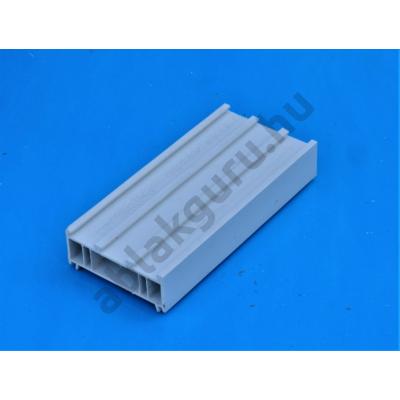 25mm-es műanyag toktoldó 70mm-es rendszerekhez (Pl.: ALUPLAST), (FEHÉR)