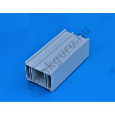 50mm-es műanyag toktoldó 70mm-es rendszerekhez (Pl.: ALUPLAST), (FEHÉR)